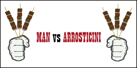 Man VS Arrosticini