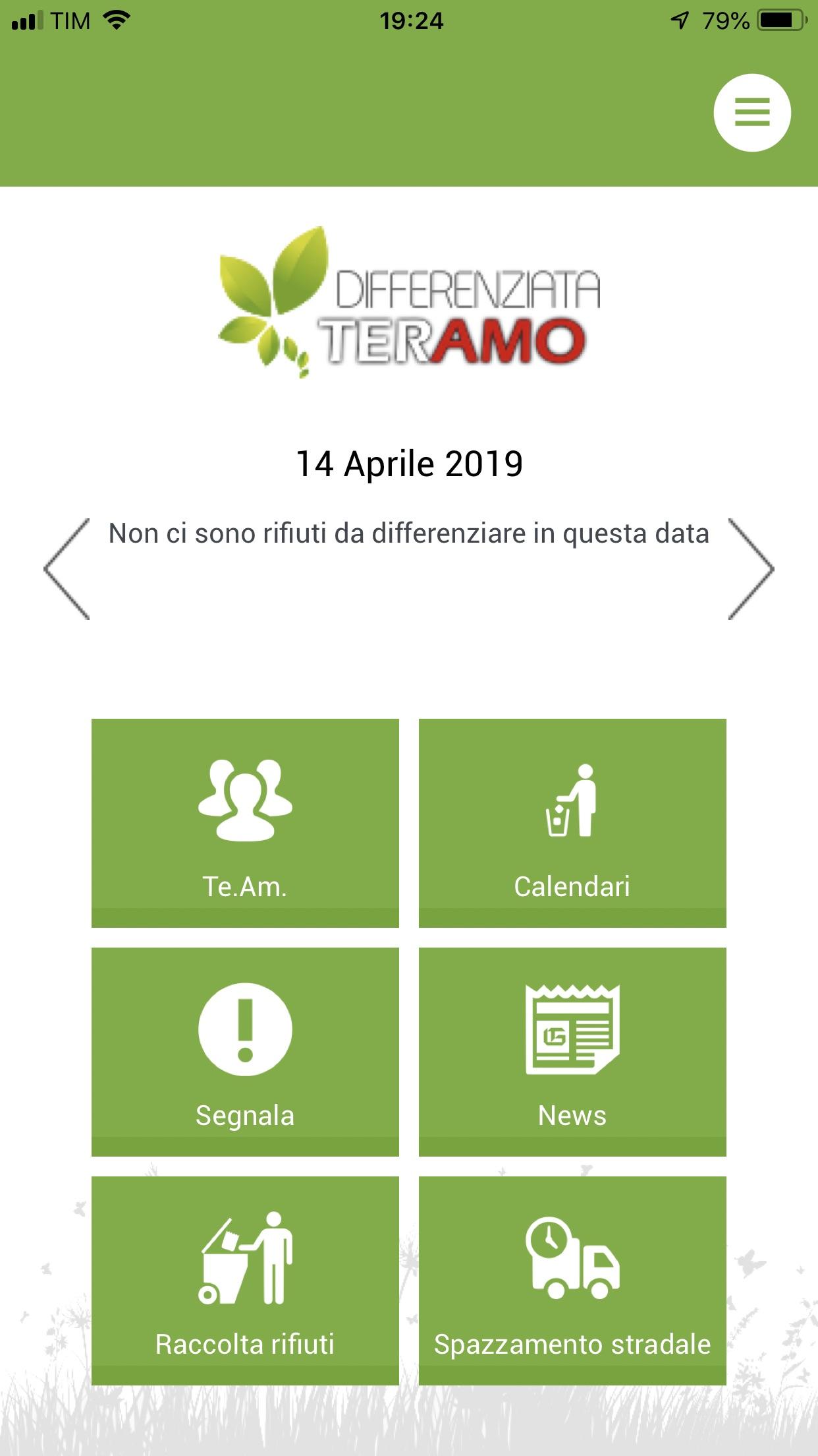 Teramo Ambiente Calendario.Certa Stampa Team E Finalmente Arrivata L App Della